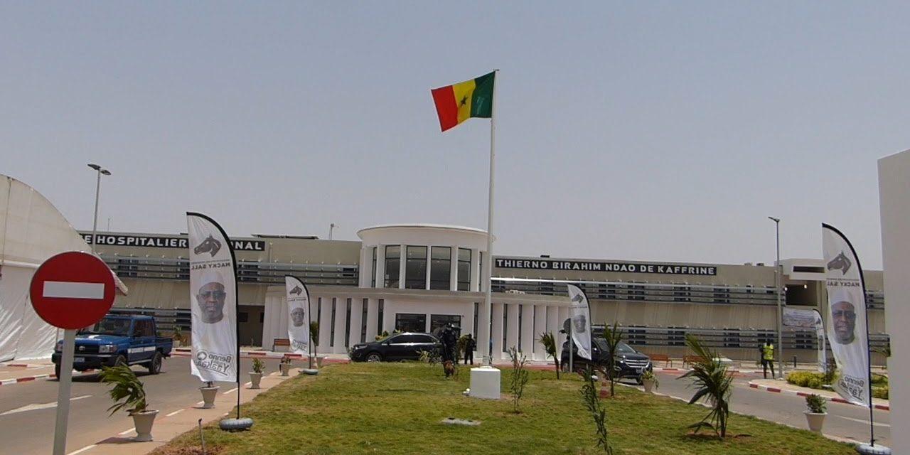 Kaffrine : Macky Sall inaugure l'hôpital régional Thierno Birahim Ndao