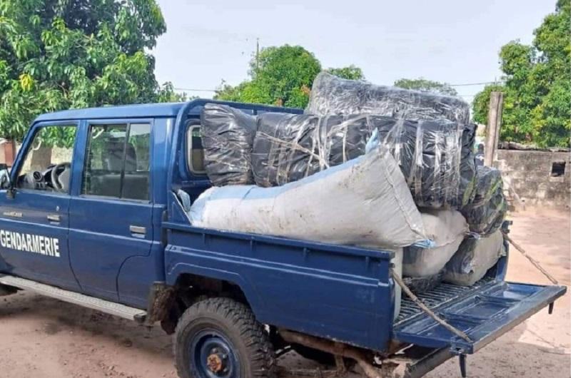 Saisie de 245 kg de drogue à Thionck Essyl