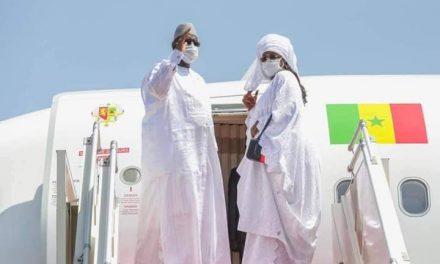 Macky Sall effectue son premier voyage avec le nouvel avion présidentiel en Mauritanie