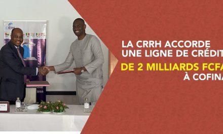 CRRH-UEMOA et Cofina vers des crédits immobiliers abordables