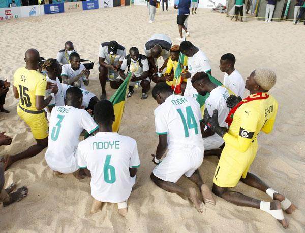 Mondial Beach Soccer: les « Lions » ratent la médaille de bronze contra la Suisse