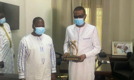 Youssou Ndour reçoit le prix d'honneur GALIAN du Burkina Faso