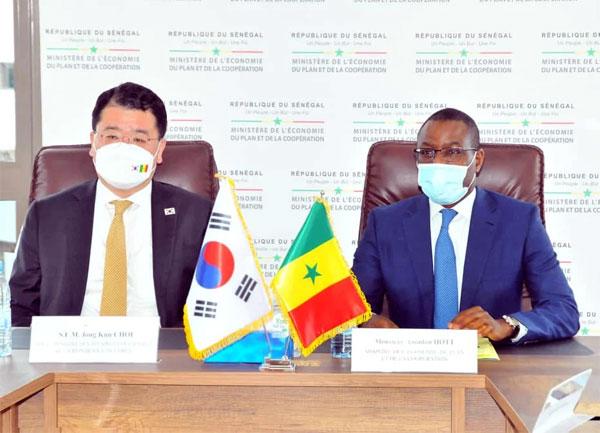 Coopération sénégalo-coréenne : Amadou Hott pour la promotion du secteur privé