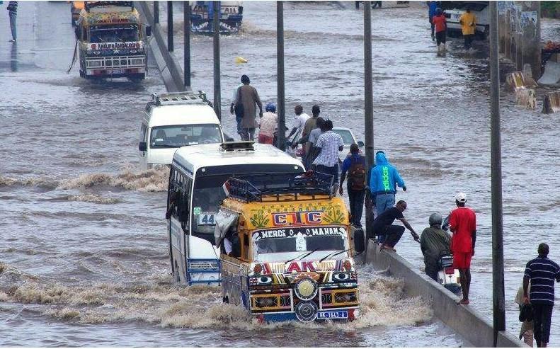 anacim: La quasi-totalité du pays sous la pluie et les orages