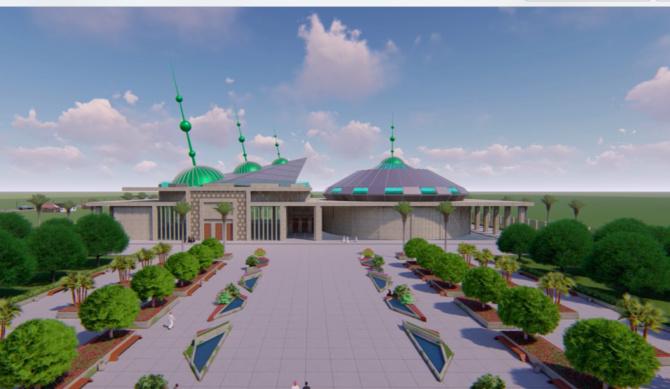 LANCEMENT DES TRAVAUX DE CONSTRUCTION DU MUSÉE CHEIKH AHMADOU BAMBA