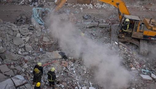 Effondrement d'un immeuble à Dakar: le bilan grimpe à six morts
