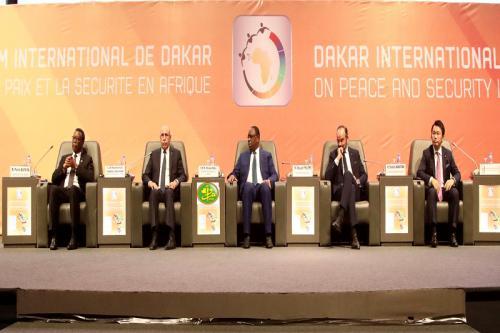 LANCEMENT DU 7E FORUM INTERNATIONAL DE DAKAR SUR LA PAIX ET LA SÉCURITÉ EN AFRIQUE
